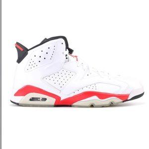 Nike Air Jordan Retro 6 Infrared Basketball Shoes